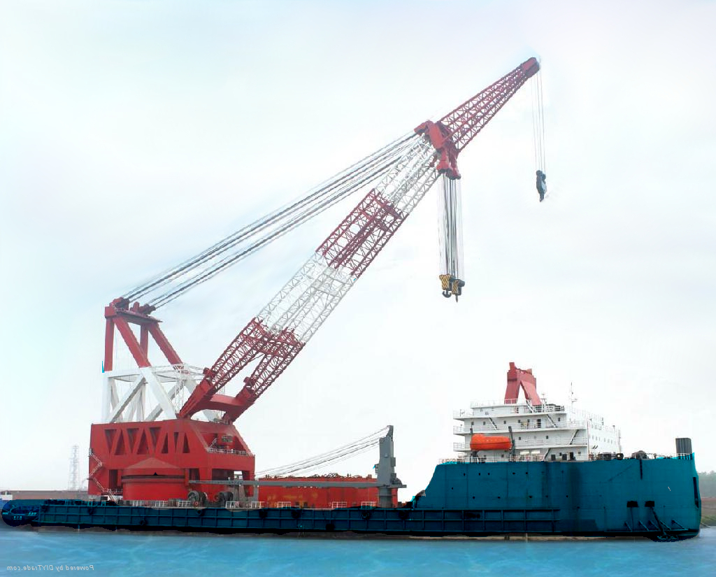 Crane Accommodation Barge For Sale File-0206