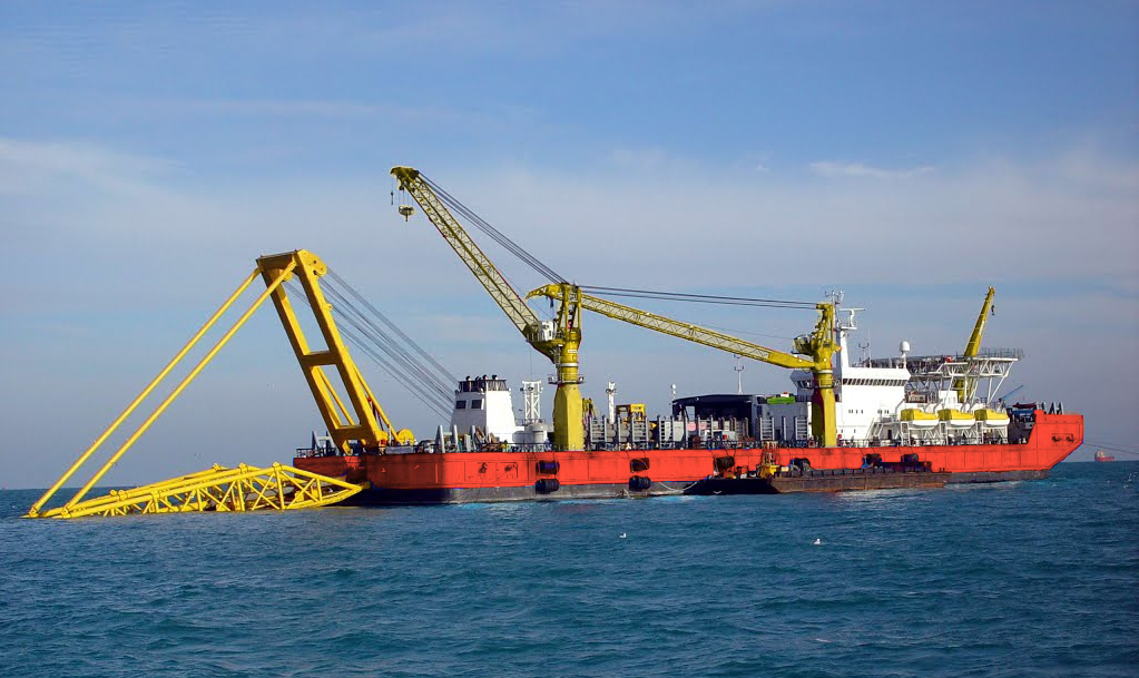 Pipelay Barge For Sale File-0203