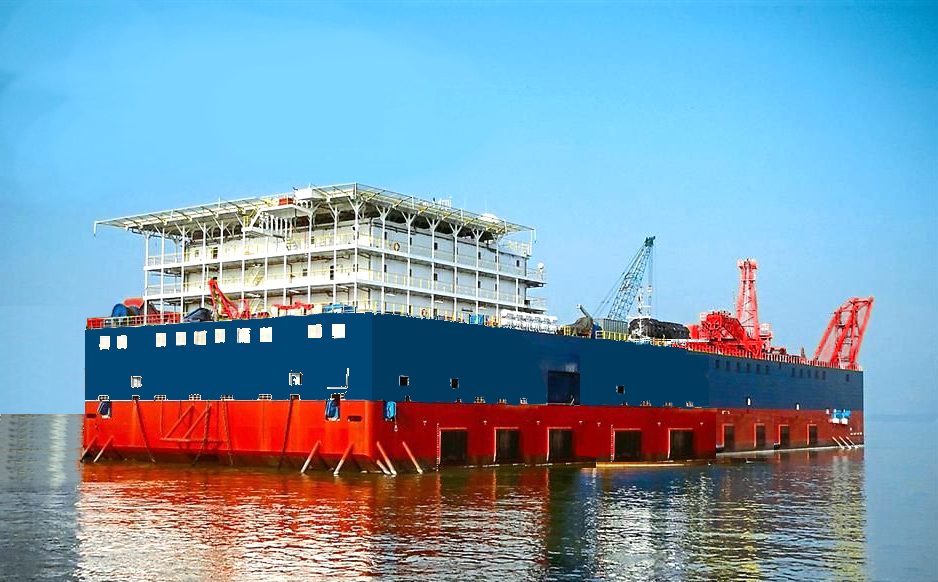 Pipelay Barge For Sale File-0210