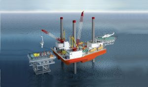 New Built Self Propelled Jack Up Barge for Sale File-0225