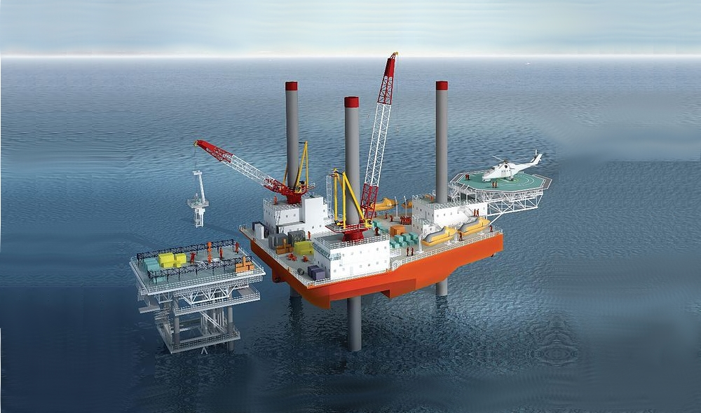 New Built Self Propelled Jack Up Barge for Sale File-0225