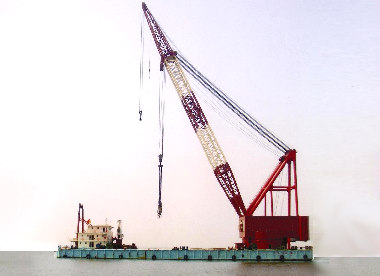 1000 Tons Floating Crane Self Propelled for Sale or Charter File-228
