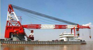 800 T Full Revolving Crane Vessel for Sale File-227